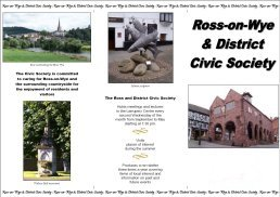 Ross Civic Society Flyer